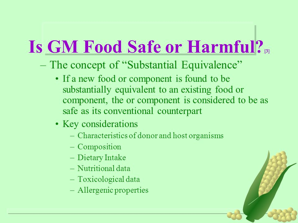 Is GM Food Safe or Harmful [3]